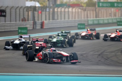 Abu Dhabi GP: Jenson Button accepts blame for Paul di Resta contact