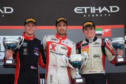 Abu Dhabi GP3: Tio Ellinas holds off Dean Stoneman for win