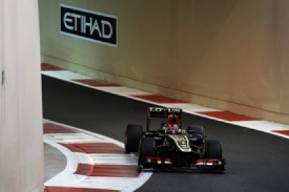 Abu Dhabi GP: Kimi Raikkonen's Lotus excluded from qualifying