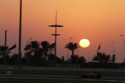 Abu Dhabi GP: Final grid line-up