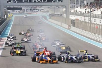 Abu Dhabi GP2: Jon Lancaster, Mitch Evans punished for collisions