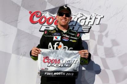 Texas NASCAR: Carl Edwards earns pole