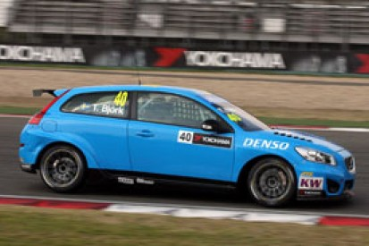 Shanghai WTCC: Thed Bjork puts Volvo on top in first practice