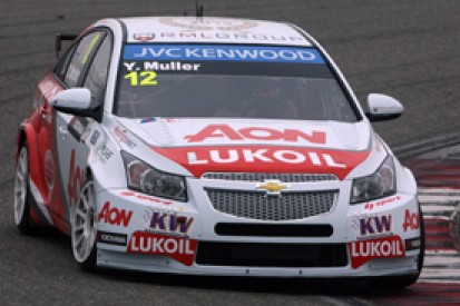 Shanghai WTCC: Yvan Muller leads all-RML Chevrolet front row