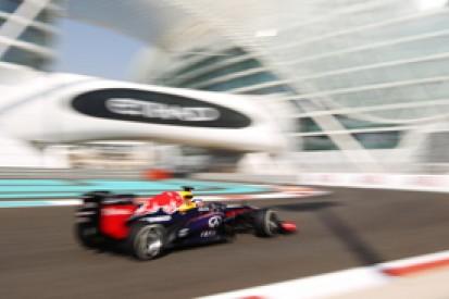 Abu Dhabi GP: Sebastian Vettel leads final practice Red Bull one-two