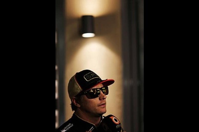 Lotus boss Boullier admits Kimi Raikkonen's future out of his hands