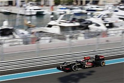 Abu Dhabi GP: Romain Grosjean quickest in opening practice