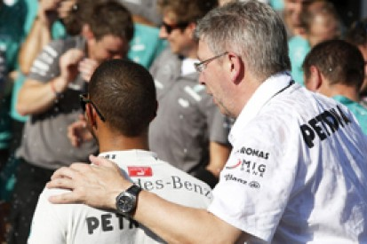 Lewis Hamilton sure Mercedes could win in F1 without Ross Brawn