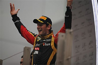 Grosjean 'signed' for next year, according to Lotus