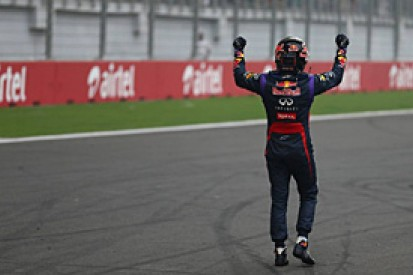 Indian GP: Vettel takes fourth F1 title with crushing win