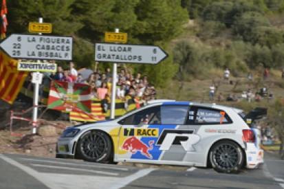 WRC Spain: Jari-Matti Latvala holds small lead over Dani Sordo