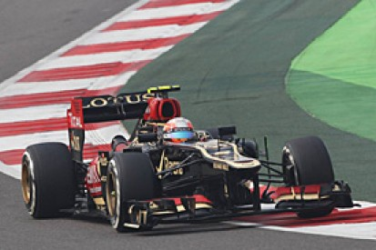Indian GP: Grosjean caught out by rivals' pace on soft tyres