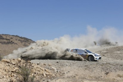 WRC Mexico: Ogier leads, Ostberg out as Neuville goes third