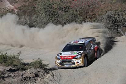 WRC Mexico: Mads Ostberg takes lead ahead of Sebastien Ogier