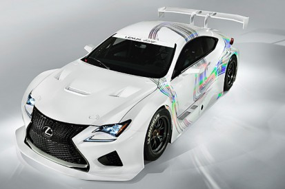 Lexus presents its GT3 challenger, aims to compete in 2015