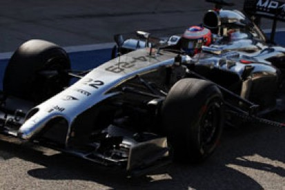 McLaren: speed not crucial in early 2014 F1 grands prix