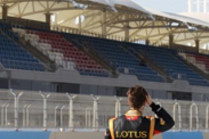 Bahrain F1 test: Romain Grosjean admits Lotus won't be ready