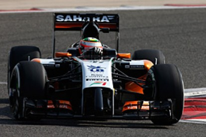 Bahrain F1 test: Sergio Perez hails 'great step' by Force India