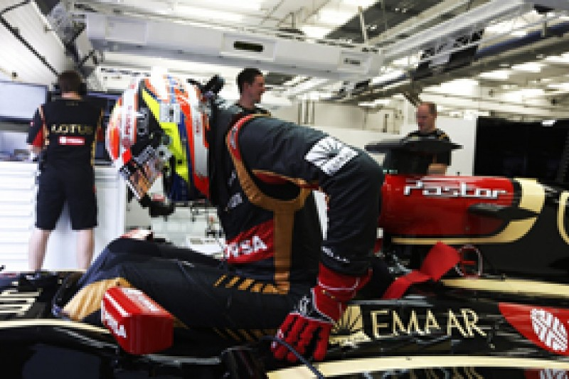 Pastor Maldonado: Lotus must support Renault amid troubled F1 test
