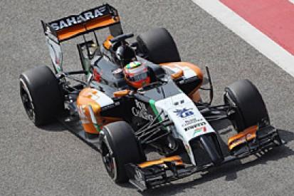 Bahrain F1 test: Sergio Perez on top as final test begins