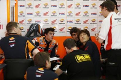 Marc Marquez ruled out of rest of MotoGP testing by broken leg