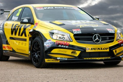 Ciceley Racing reveals BTCC Mercedes A-class