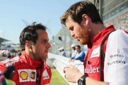 Felipe Massa says Rob Smedley a big boost for Williams F1 team