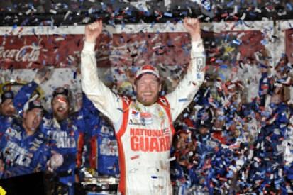 Daytona 500: Dale Earnhardt Jr wins after long rain delay