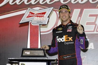 Denny Hamlin: water in radio upset Daytona 500 win hopes
