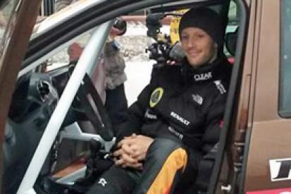 Romain Grosjean wins Moscow ice race