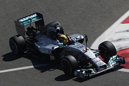 Bahrain F1 test: Hamilton fastest as Red Bull woes continue