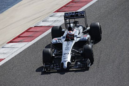 Bahrain F1 test: Kevin Magnussen puts McLaren on top on day two