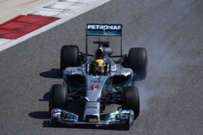 Bahrain opening day proof Mercedes not immune to issues - Hamilton