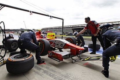 GP2 changes feature race tyre rules to move it closer to F1