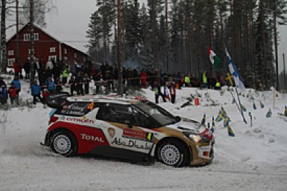 WRC Sweden: Ostberg criticises Kubica after day two hold-up