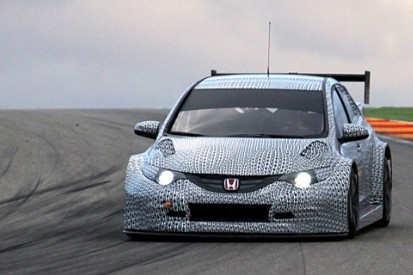 Honda reveals first images of WTCC Civic