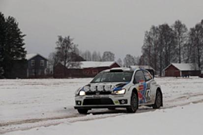 WRC Sweden: Latvala keeps narrow lead from Mikkelsen