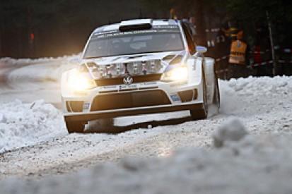WRC Sweden: Ogier leads from VW team-mate Mikkelsen