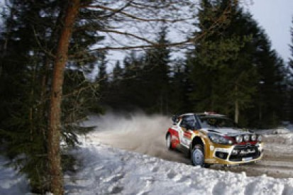 WRC Rally Sweden: Mads Ostberg sets pace at shakedown
