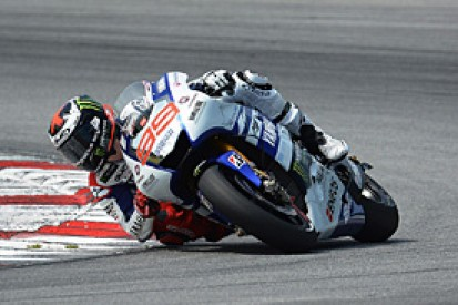 MotoGP runner-up Jorge Lorenzo says bike harder to control now