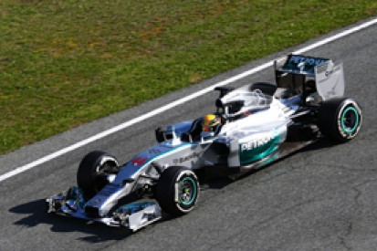 Mercedes plays down status as 2014 Formula 1 favourite after test