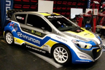 Frode Holte unveils Hyundai i20 for World Rallycross