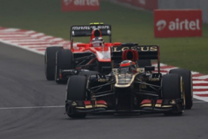 Lotus and Marussia complete 2014 Formula 1 entry process
