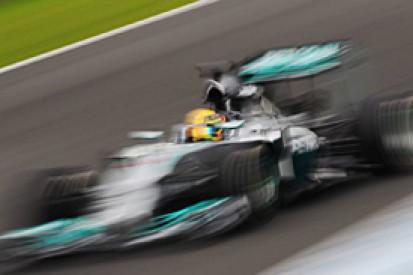 Lewis Hamilton hails 'fantastic' test for Mercedes F1 team