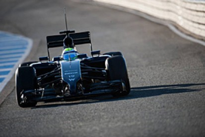 Felipe Massa 'happier than expected' at Williams F1 team