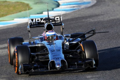 Jerez F1 test: Jenson Button and McLaren lead early on day three
