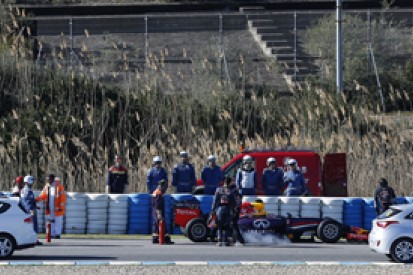 Red Bull curtails its Formula 1 test day at Jerez again