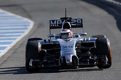 Kevin Magnussen says 2014 F1 debut not 'balls to the wall'