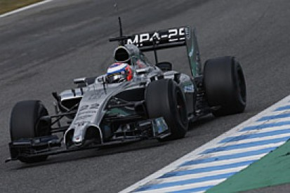 Jenson Button says 2014 McLaren F1 car does not have 2013 'issues'
