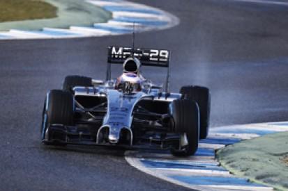 Jerez F1 test: Jenson Button quickest for McLaren on wet morning